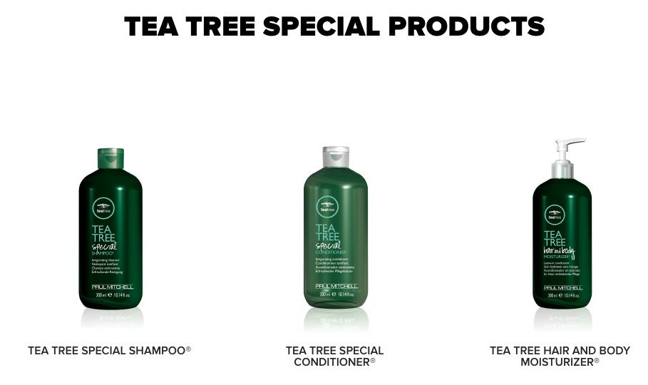 Paul Mitchell Tea Tree Products